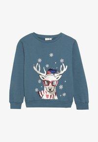 Name it - NKMRUDOLFON - Sweatshirt - mallard blue - 3