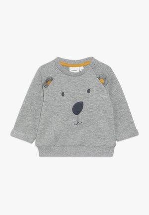 NBMOMER BOX - Sweatshirt - grey melange