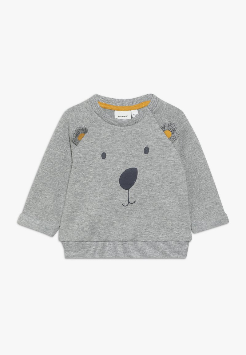 Name it - NBMOMER BOX - Sweatshirt - grey melange