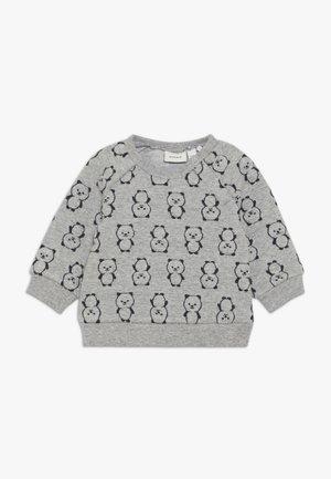 NBMSOMIL O NECK - Sweatshirt - grey melange