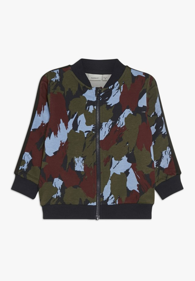 NMMSINAN - Zip-up hoodie - dark sapphire