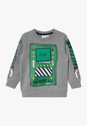 NMMBOBOT - Sweater - grey melange