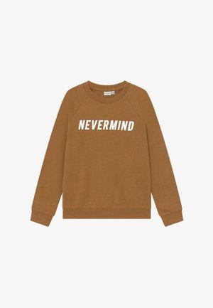 NKMVION - Sweatshirt - bone brown