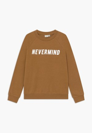 NKMVION - Sweater - bone brown