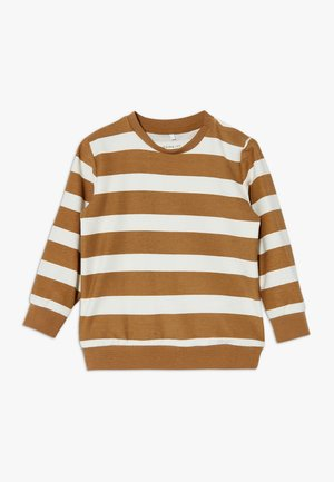 NBMBISTRIPE LIGHT - Sweater - snow white