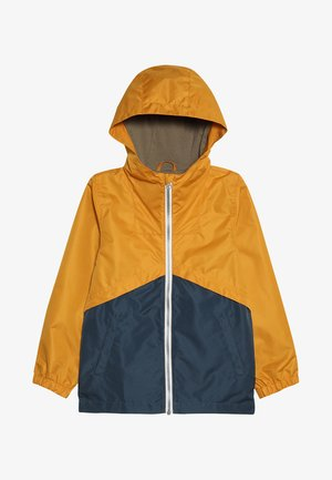 NKMMANG JACKET COLUR BLOCK  - Lehká bunda - golden orange