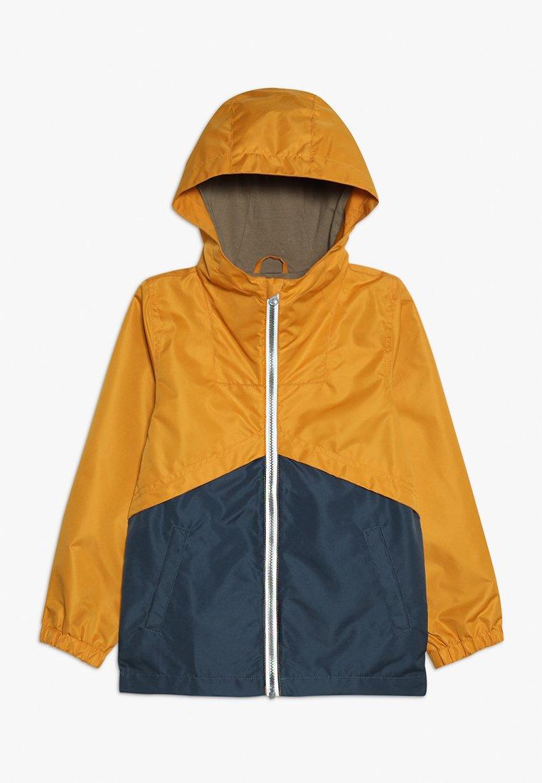 Name it - NKMMANG JACKET COLUR BLOCK  - Välikausitakki - golden orange