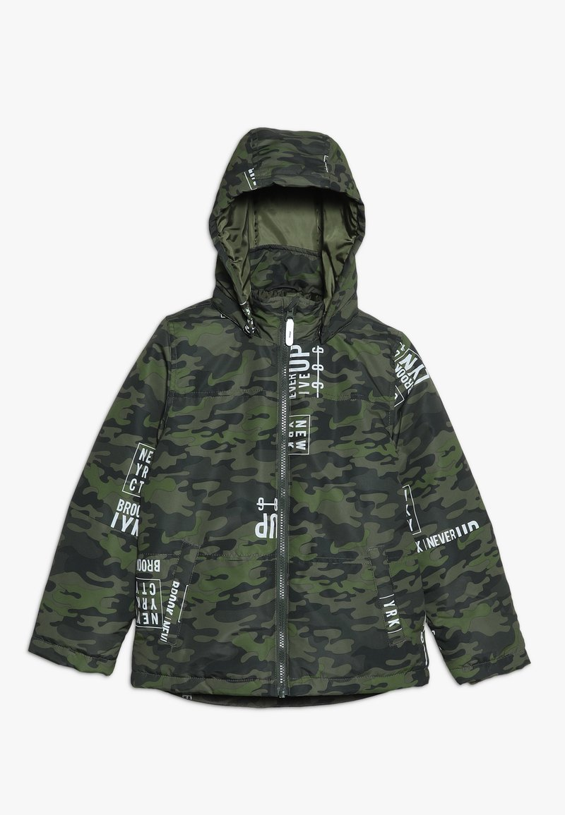 Name it - NKMMAX JACKET CAMO TEXT - Veste d'hiver - winter moss