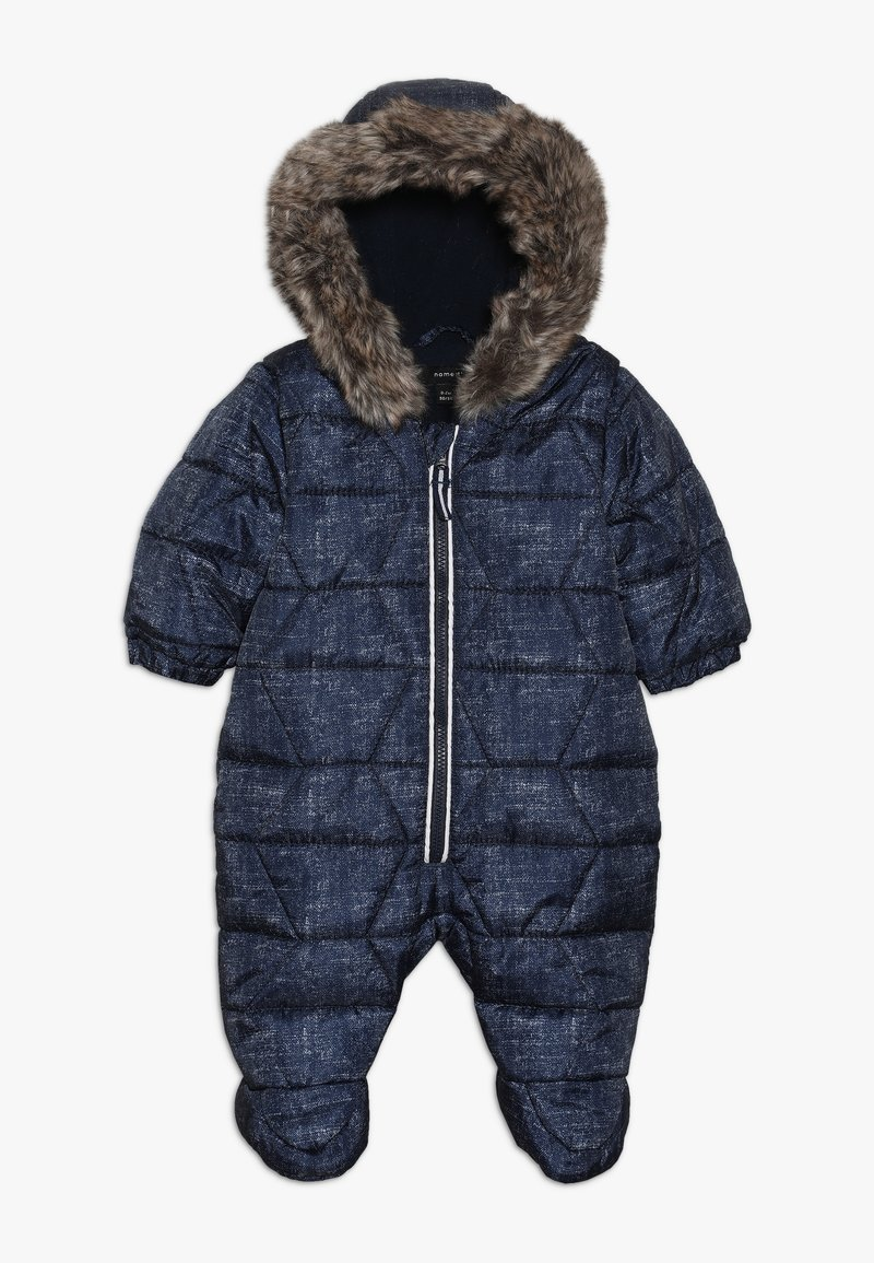 Name it - NBMMANNY SUIT - Combinaison de ski - dress blues