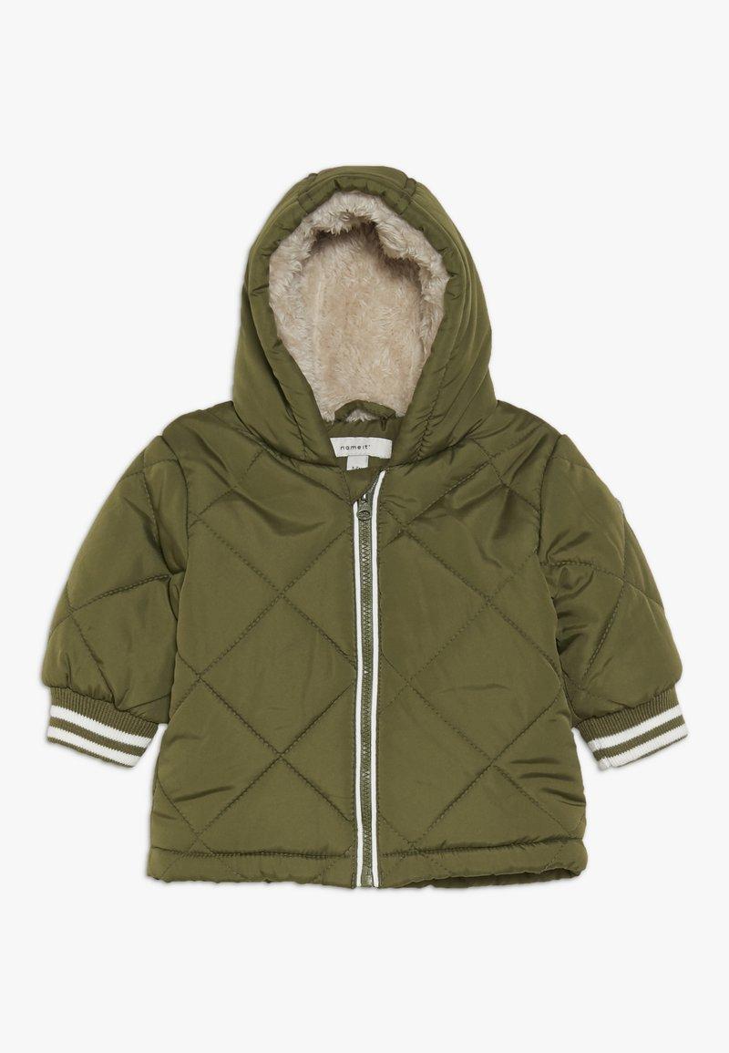 Name it - NBMME JACKET - Winter jacket - winter moss