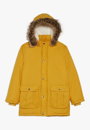 NKMMOA JACKET  - Vinterkåpe / -frakk - golden orange