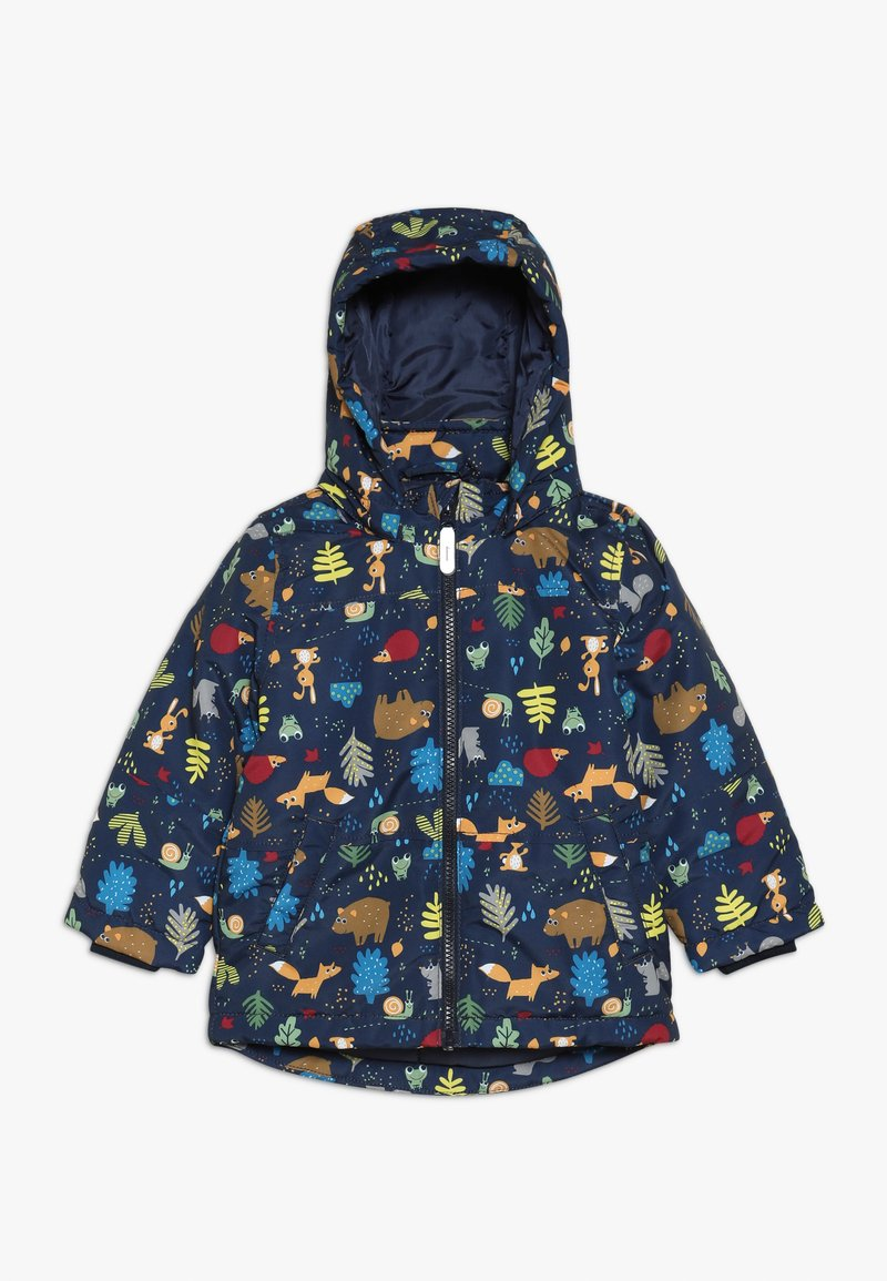 Name it - NMMMAX JACKET FOREST ANIMALS - Winter jacket - dark sapphire
