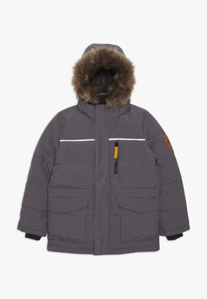NKMMANSON JACKET CAMP - Piumino - dark grey melange