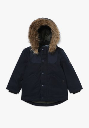 NMMMALIEN JACKET - Zimní kabát - dark sapphire