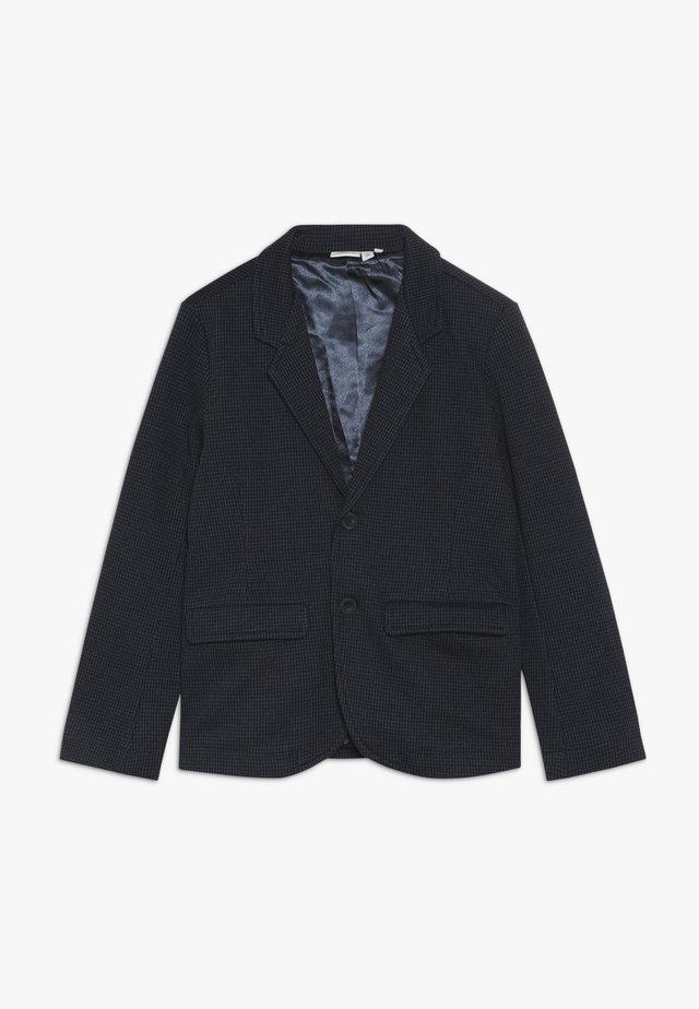 NKMSAFISK - Chaqueta de traje - dark sapphire/black