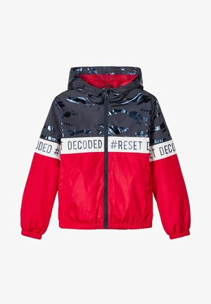 NKMMILO CAMP - Light jacket - high risk red