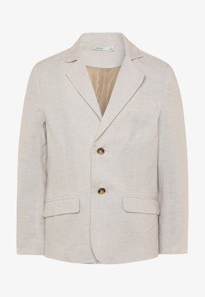NKMFALCON  - Blazer jacket - white pepper