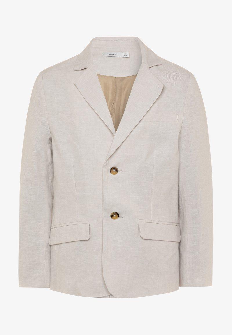 Name it - NKMFALCON  - Blazer jacket - white pepper
