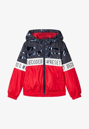 NMMMILO JACKET CAMP - Light jacket - high risk red