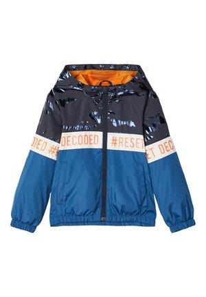 NMMMILO JACKET CAMP - Light jacket - dark blue