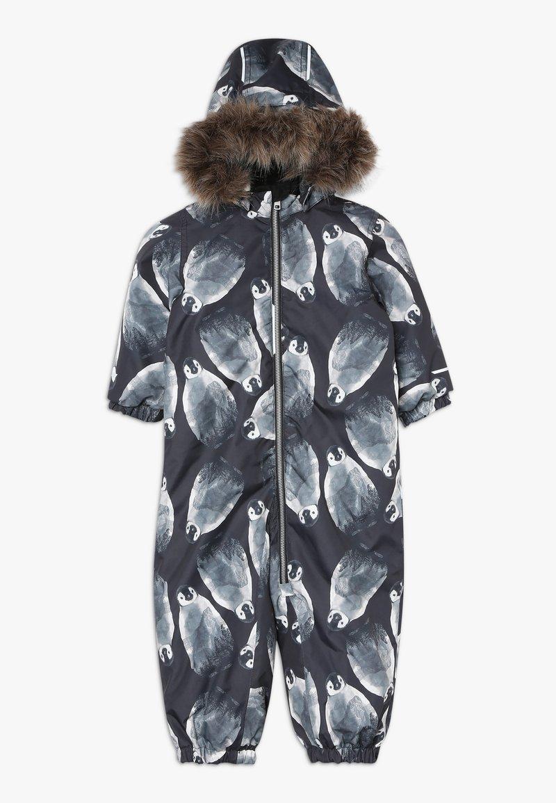 Name it - NMMSNOW08 SUIT PENGUIN - Mono para la nieve - black