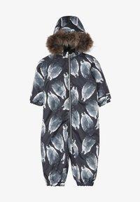 Name it - NMMSNOW08 SUIT PENGUIN - Mono para la nieve - black - 4