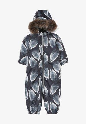 NMMSNOW08 SUIT PENGUIN - Snowsuit - black