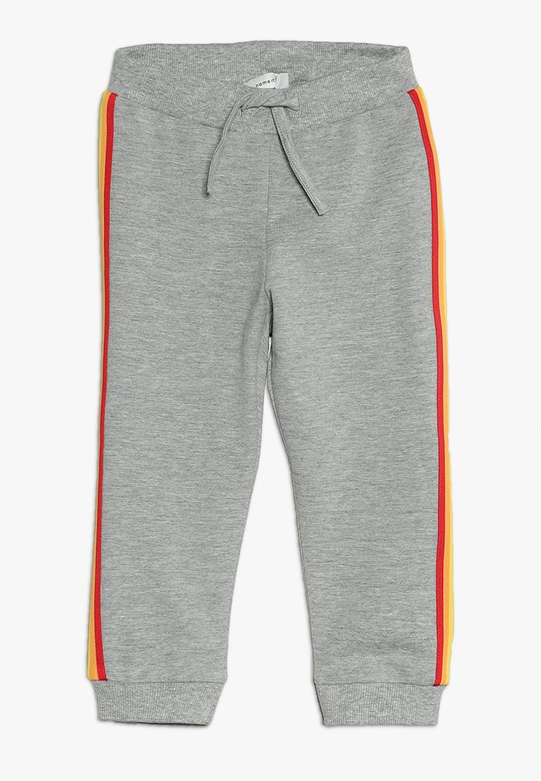 Name it - NBFBINIA PANT EXCLUSIVE BABY - Stoffhose - light grey melange