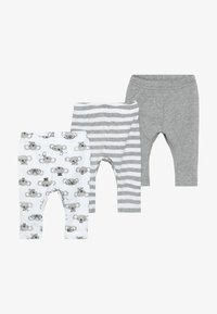 Name it - NBNLEGGING BEAR NOOS 3 PACK - Legging - grey melange - 3