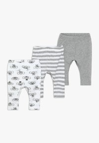 Name it - NBNLEGGING BEAR NOOS 3 PACK - Legging - grey melange - 0