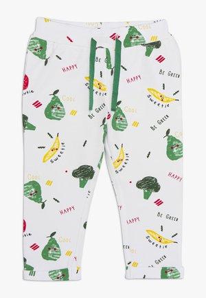 NBNUBIEHE PANT - Pantalones deportivos - bright white