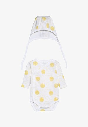 NBNURBANHA WRAP BODY SET - Beanie - bright white
