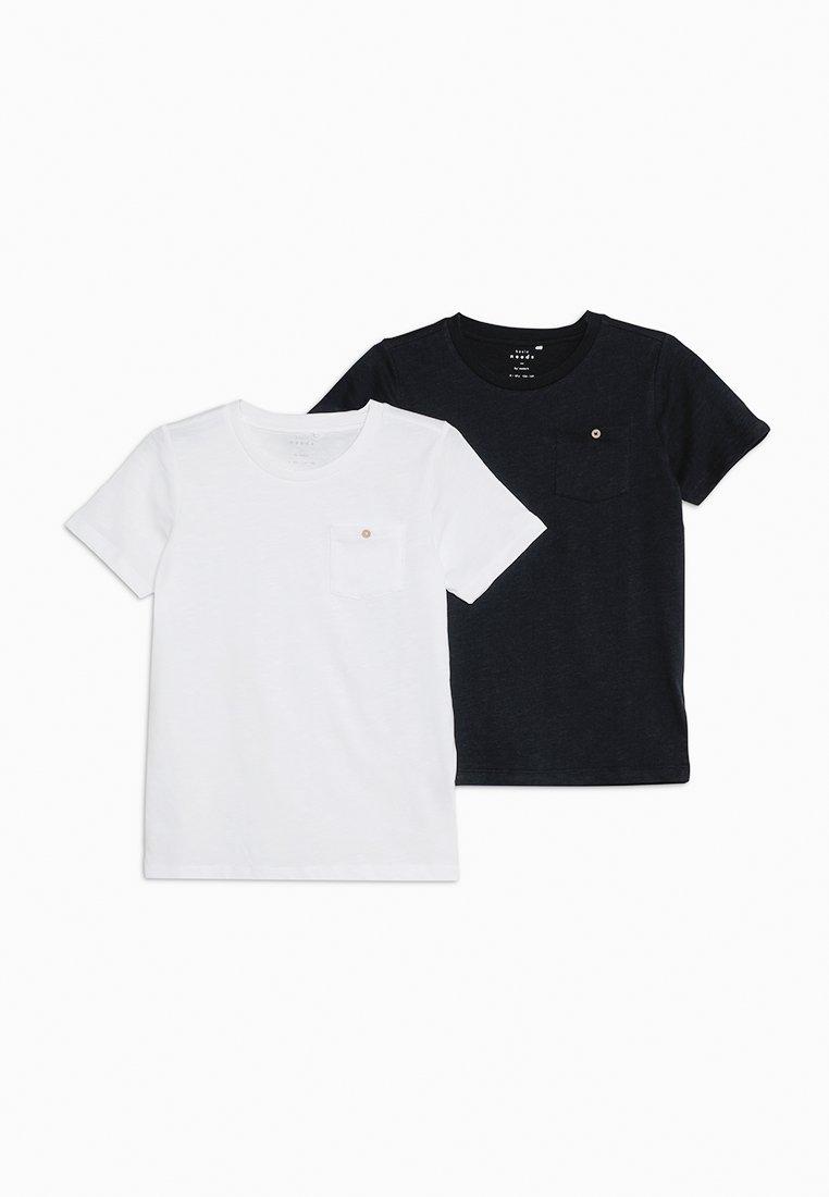 Name it - NKMVEBBE 2 PACK - T-Shirt print - bright white