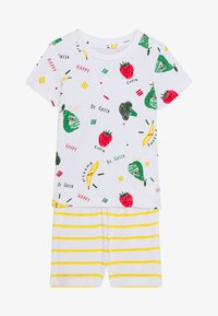 Name it - NBNUTTEHE SHORTS SET - Printtipaita - bright white - 3