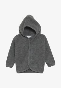 Name it - NBMWMINO CARD - Chaqueta de punto - dark grey melange - 2