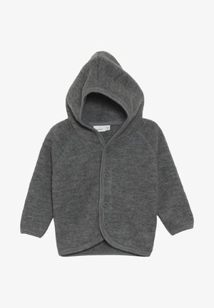 NBMWMINO CARD - Cardigan - dark grey melange