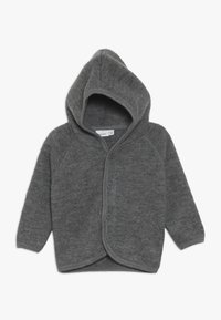 Name it - NBMWMINO CARD - Chaqueta de punto - dark grey melange - 0