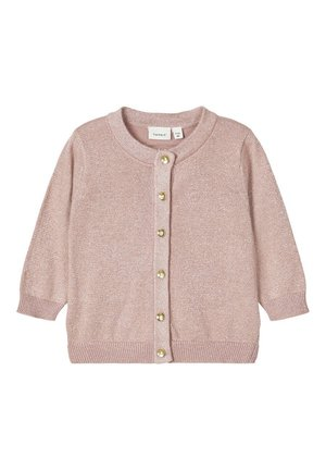 NAME IT STRICKJACKE GLITZER - Strikjakke /Cardigans - deauville mauve