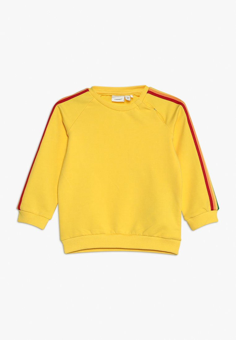 Name it - NKFBINIA EXCLUSIVE BABY - Sweatshirt - yellow