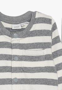 Name it - NBMLEE - Zip-up hoodie - grey melange - 4
