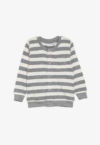 Name it - NBMLEE - Zip-up hoodie - grey melange - 3
