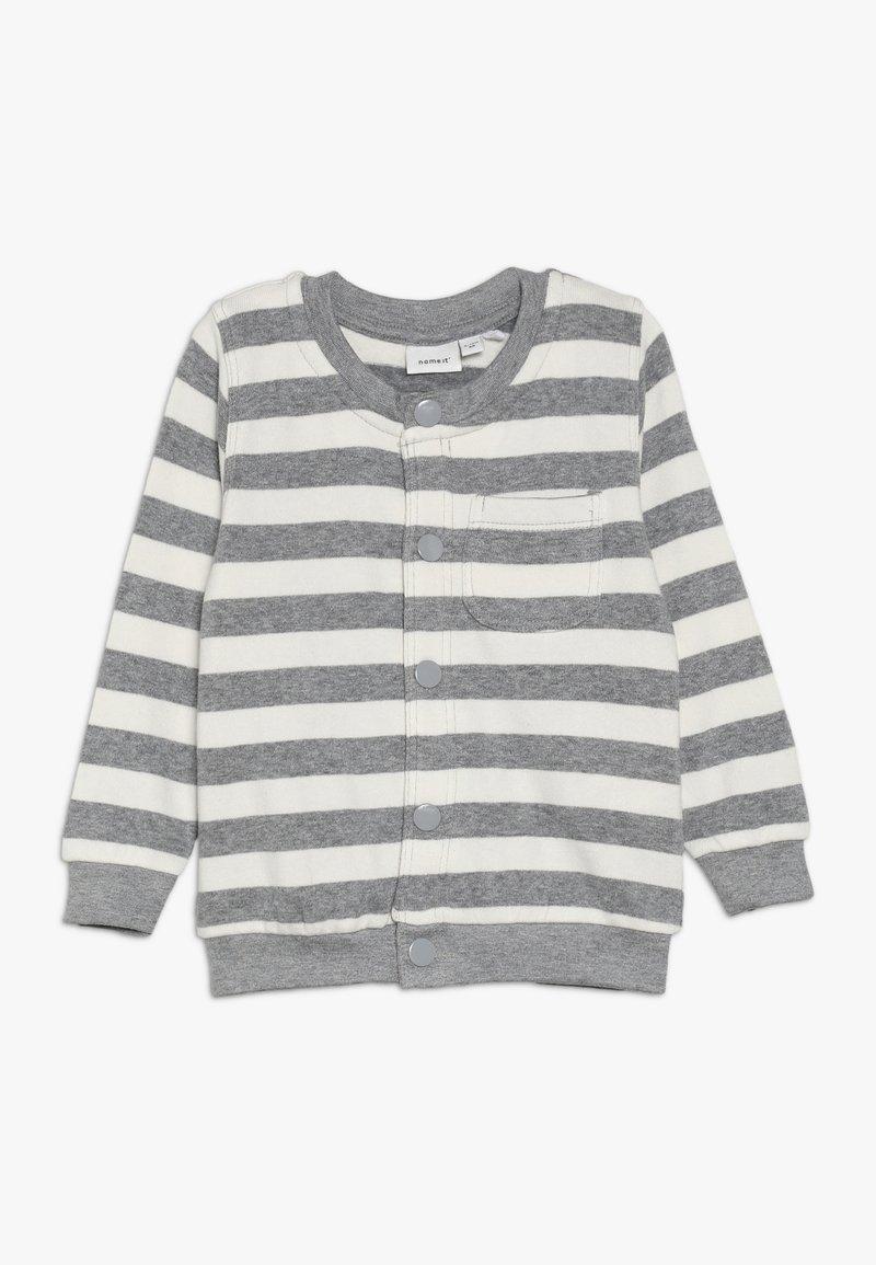 Name it - NBMLEE - Zip-up hoodie - grey melange