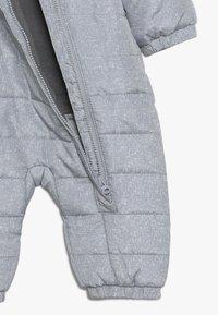 Name it - NBNMOI SUIT - Combinaison de ski - grey melange - 4