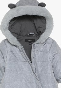 Name it - NBNMOI SUIT - Mono para la nieve - grey melange - 2