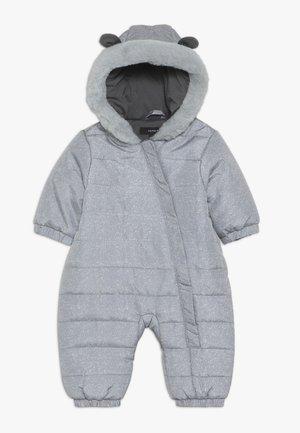 NBNMOI SUIT - Snowsuit - grey melange