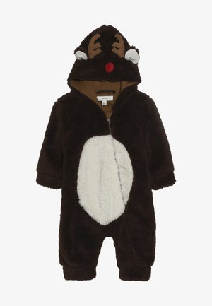 NBNMUDOLPH TEDDY SUIT - Overal - bronze brown