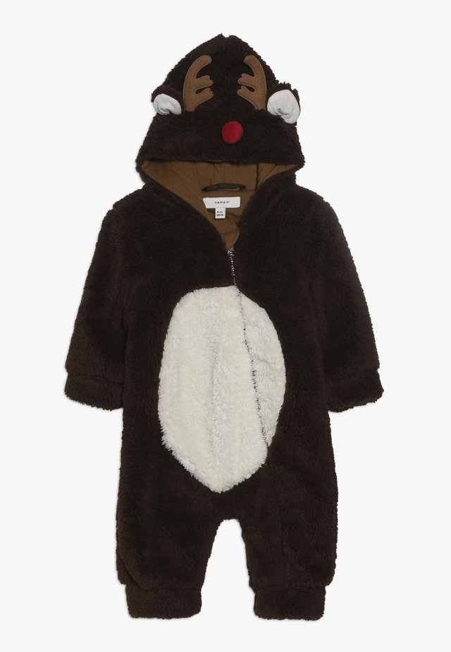 NBNMUDOLPH TEDDY SUIT - Overall / Jumpsuit - bronze brown