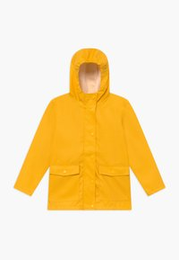 Name it - NKNMIL RAIN JACKET - Vodotěsná bunda - golden rod - 0