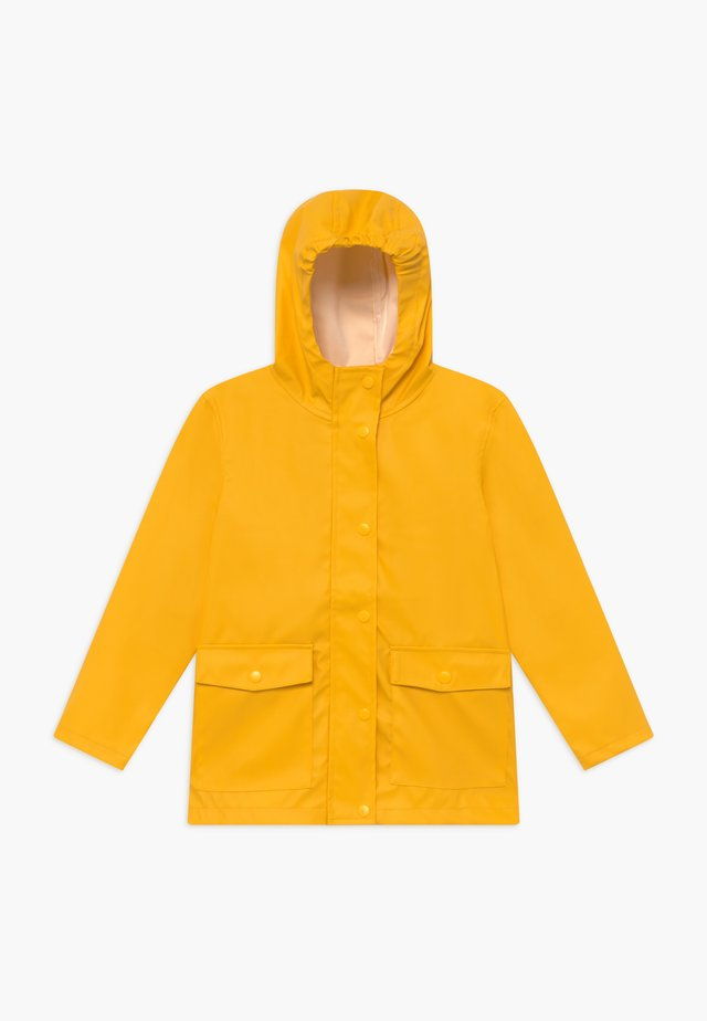 NKNMIL RAIN JACKET - Regenjas - golden rod