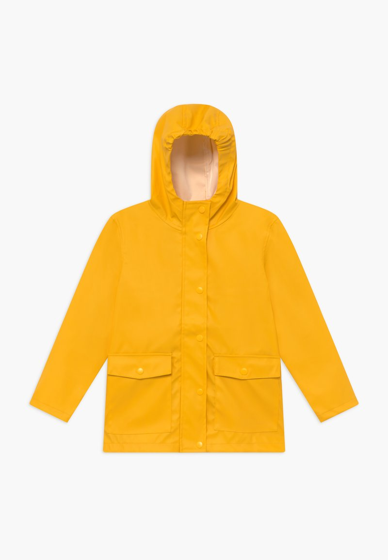 Name it - NKNMIL RAIN JACKET - Vodotěsná bunda - golden rod